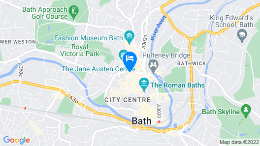 DREAM STAYS BATH - QUEEN STREET Map