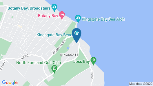 Vacation Home Kingsgate Bay in Ramsgate - Broadstairs - 4 Persons, 2 Bedrooms Map