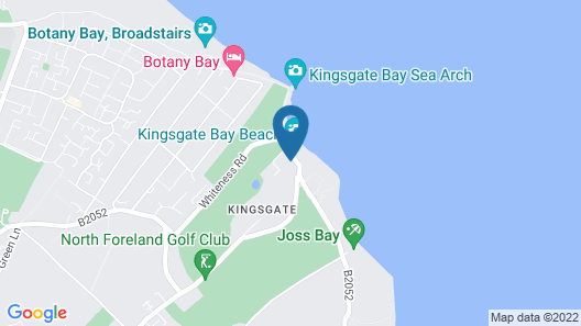 Kingsgate Holiday Home, Sleeps 4 With Wifi Map