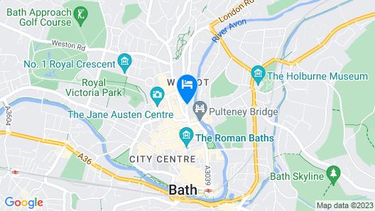 Doubletree by Hilton Bath Map