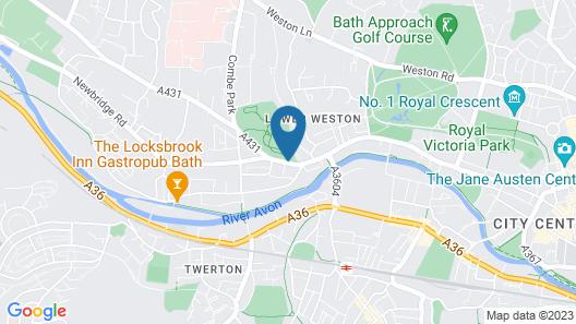 Locksbrook Lodge Map