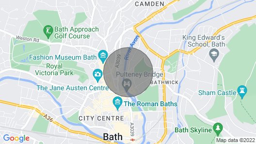 Beautiful town house in the centre of Bath. Map