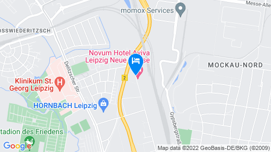 Novum Hotel Aviva Leipzig Neue Messe Map