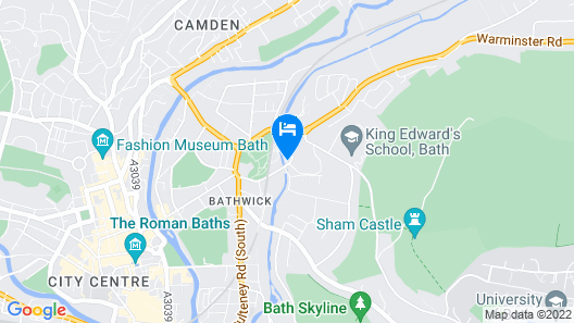 Macdonald Bath Spa Map