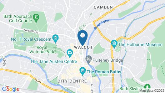 The Cliffside Loft - Distinctly Modern 3BDR Riverside Home Map
