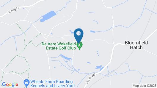 De Vere Wokefield Estate Map