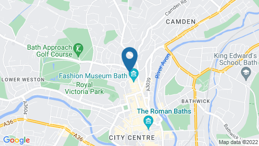 The Queensberry Hotel Map