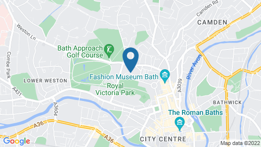 The Royal Crescent Hotel & Spa Map