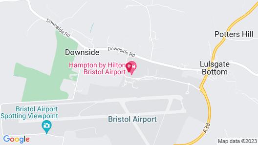 Hampton by Hilton Bristol Airport Map