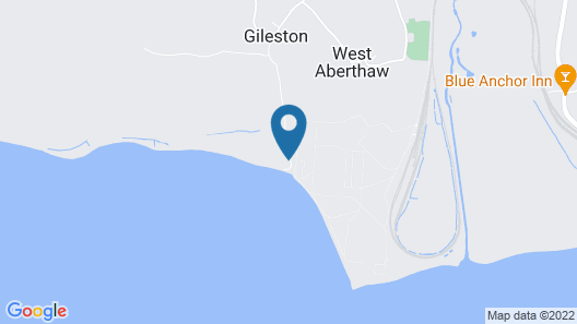 1-bed Cottage on Coastal Pathway in South Wales Map