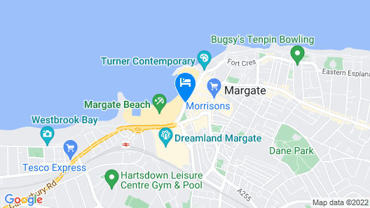 Sands Hotel Map