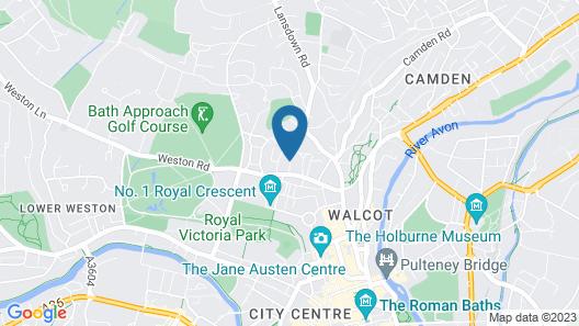 Price & Weeks - Jewel of Bath Map