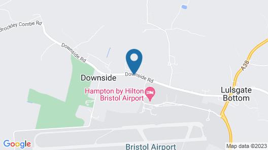 Acorns Guest House Map
