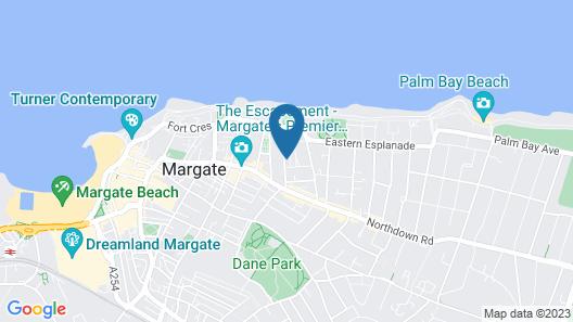 The Glenwood Hotel Map