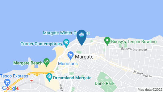Cultural Heart of Margate Map