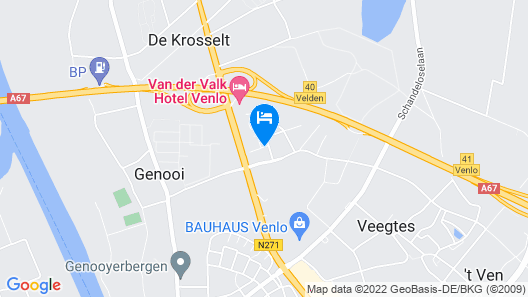 Campanile Venlo Map