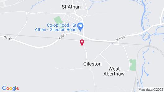The Stalls at Gileston Manor Map