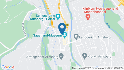 Hotel Altes-backhaus Map