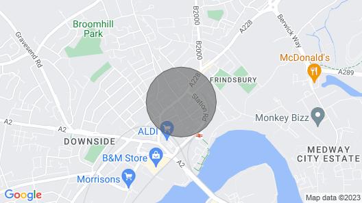 Quantock Lodge 2 Map