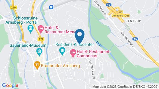 Boardinghouse Arnsberg Map