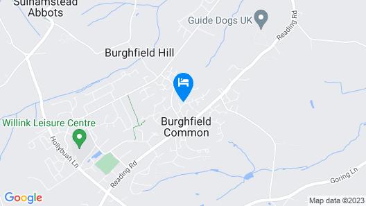 Burgh House Map