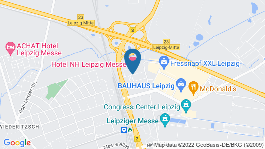 NH Leipzig Messe Map