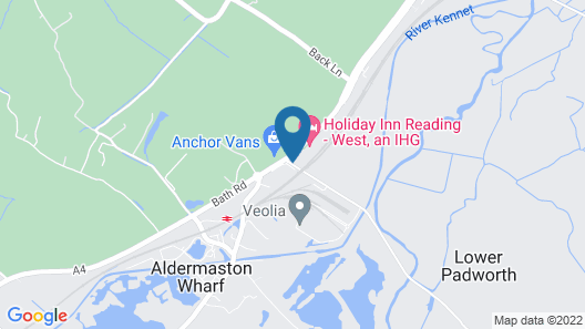 Holiday Inn Reading West Map
