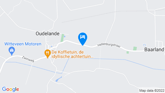 Cozy Holiday Home in Baarland With a Swimming Pool Map