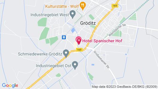 Hotel Spanischer Hof Map