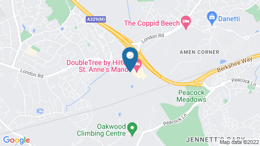 DoubleTree by Hilton St. Anne's Manor Map