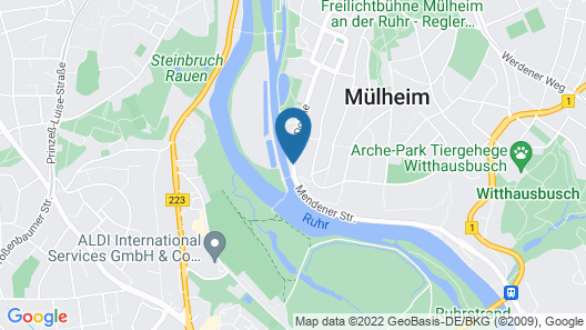 Boutique Hotel Villa am Ruhrufer Golf & Spa Map