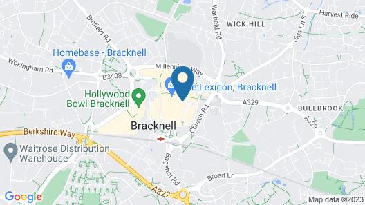 Grange Bracknell Map