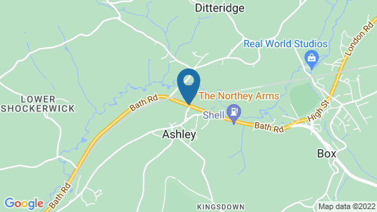 The Northey Arms Map