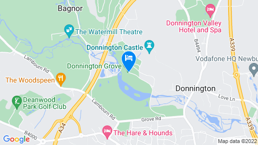Donnington Grove Country Club Map