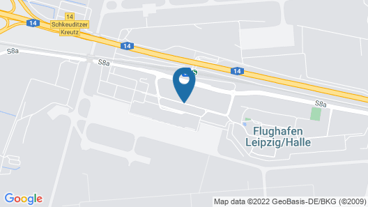 Campanile Leipzig Halle Airport Map