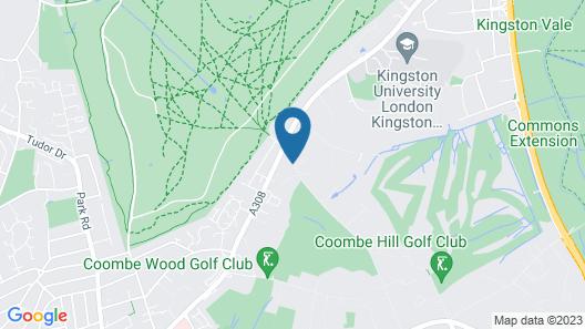 Warren House Map