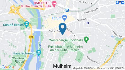 Hotel Kölner Hof Map