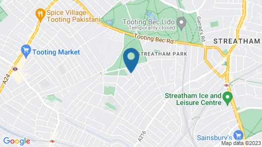 Parklands B&B Map