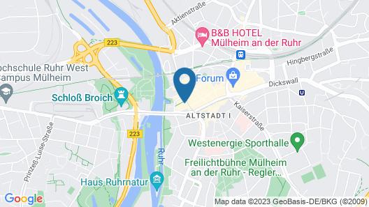 Holiday Inn Express Mulheim - Ruhr Map