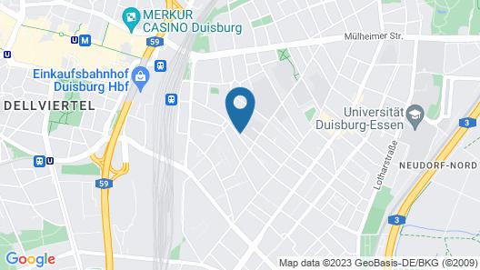 Glück Auf Appartements Kammerstraße Map