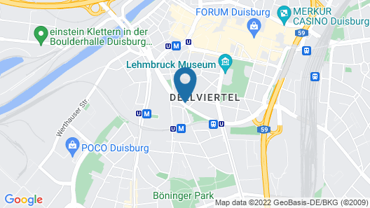 Niteroom Boutiquehotel Map
