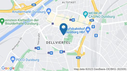 Hotel Plaza Map