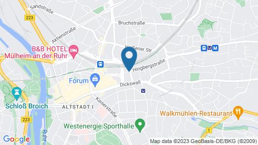 Hotel Hopfen-Sack Map