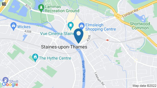 Mercure London Staines-upon-Thames Hotel Map
