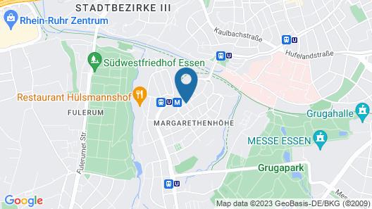 Mintrops Stadt Hotel Margarethenhöhe Map