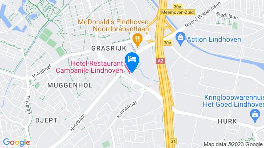 Campanile Hotel Eindhoven Map
