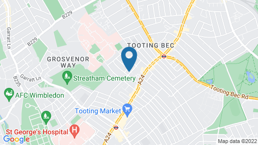 Marble Apartments Tooting House Map