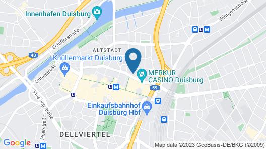 Wyndham Duisburger Hof Map
