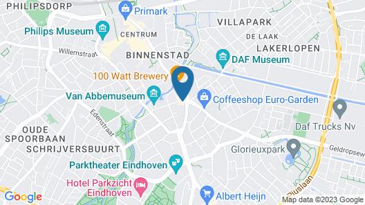 Park Plaza Eindhoven Map