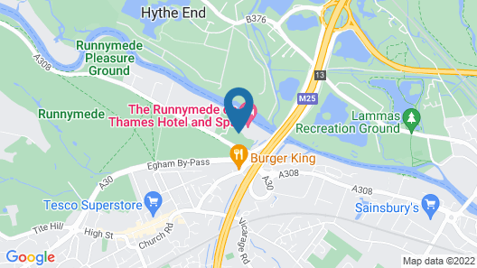 The Runnymede on Thames Map